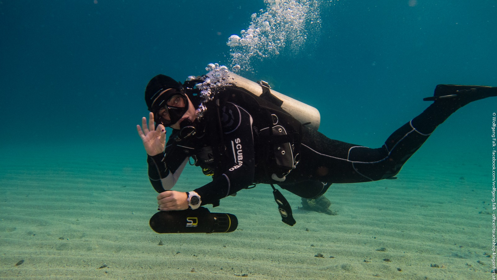 PADI Instructors Event – Test the SCUBAJET